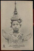 Cambodge -  Phnom-Penh - Samand Une Des Premières Danseuses De S.M. Sisowath - Cambodia