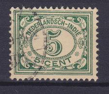 Netherlands Indies 1922 Mi. 140     5c. Ziffernzeichnung - Niederländisch-Indien