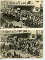 DANEMARK LEGION ETRANGERE LOT DE 6 CPSM PHOTO OBSEQUES DU PRINCE AAGE (1940 CASABLANCA ? OU 1947 SIDI-BEL-ABBES ?)) - Characters