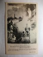 Carte Postale Religion -Eglise De Commercy - La Fresque Des Vivants -Le Voeu à La Vierge 1914 - Paintings, Stained Glasses & Statues