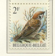 PIA - BEL -1989 - Uccelli : Passero -  (Yv 2348) - Sparrows