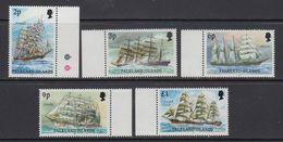 """Falkland Islands 1991 Definitives / Cape Horners Imprint Date """"1991"""" 5v  (+margin)** Mnh (41323) - Falkland Islands"""
