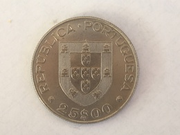 1977 Portugal 25 Escudos Coin - EF Extremely Fine - Portugal