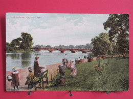 Angleterre - Londres - Hyde Park - The Serpentine - Scans Recto-verso - London