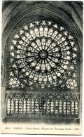 CPA 75 PARIS Cathédrale Notre Dame - Rosace - Notre Dame De Paris