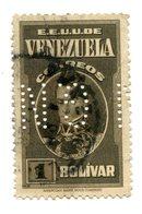 """4315 - VENEZUELA - Mi.Nr. 247 (II.Wahl) Mit Perfin """"G.N."""" - Venezuela"""