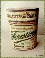 Boite Ancienne En Métal  -  FORESTINES Spécialités Du Berry - Boîtes/Coffrets