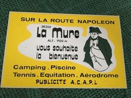 Autocollant Camping La Mure - Stickers