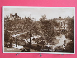Angleterre - Londres - Leicester Square - Scans Recto-verso - London