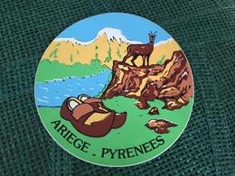 Autocollant Ariège Pyrénées - Stickers