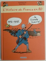 BANDE DESSINEE - GRANDE GUERRE 1914 1918 - HISTOIRE PREMIERE GUERRE MONDIALE - BD Casterman - History