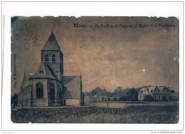 28767 - Wieze De Kerk En De Pastorij - L'eglise St Le Presbytere - Lebbeke