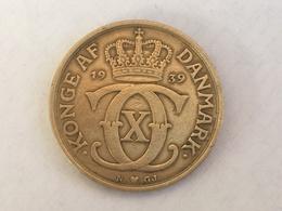 1939 Denmark Danmark 1 Krone Coin - EF Extremely   Fine - Denmark