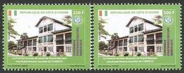 Côte D'Ivoire 2015 UPU Strategic Conference Grand-Bassam Unesco World Heritage Set Mint MNH - Ivory Coast (1960-...)