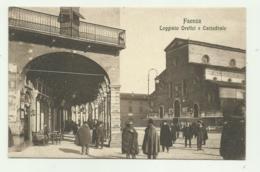 FAENZA - LOGGIATO OREFICI E CATTEDRALE - NV FP - Faenza