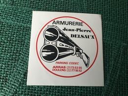 Autocollant Armurerie Arras - Stickers