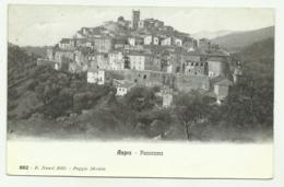 ASPRA PANORAMA 1913 VIAGGIATA FP - Rieti