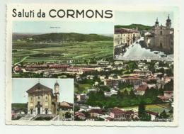 SALUTI DA CORMONS - VIAGGIATA   FG - Gorizia