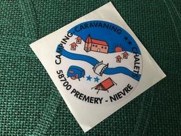 Autocollant Camping Premery - Stickers