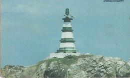 TARJETA TELEFONICA DE VENEZUELA. FAROS DE VENEZUELA 5/8. VIGÍAS DEL MAR. FARO ISLA REDONDA - 08.02, VE-CAN2-0830 (672) - Lighthouses