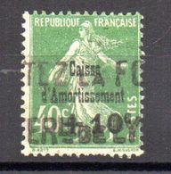 SUPERBE CAISSE D'AMORTISSEMENT N°253 Oblitéré Cote 17 Euro PAS D'AMINCI - Caisse D'Amortissement
