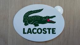 Aufkleber Für Eine Kleidungsmarke (LACOSTE) - Aufkleber
