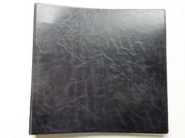 Ringmap Groot Formaat  6x34x36 Cm. + 20 Bladen, Elk 6 Vakjes Voor Oude Postkaarten Form. 9x14 Cm. Goede 2e Hands Staat - Matériel