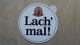 Aufkleber Mit Motto-Werbung Einer Deutschen Brauerei (Küppers-Kölsch) - Aufkleber