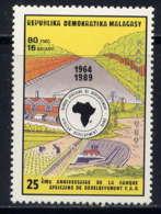 MADAGASCAR - 970* - 25è ANNIVERSAIRE DE LA B.A.D. - Madagascar (1960-...)