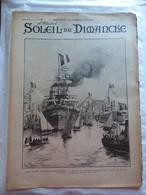 LE SOLEIL DU DIMANCHE  N° 15 Du 14/4/1901 ESCADRE ITALIENNE A TOULON - LA MODE EN 1901 - Newspapers