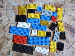 LEGO 28 Plaques De Construction Différents Formats - Lego System