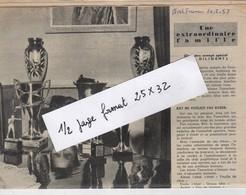 Extrait De Nord France : Faille Famchon Ray à Sous Les Bois Faubourg De Maubeuge : 4 Pages, 9 Photos., Format 25x32 - Newspapers