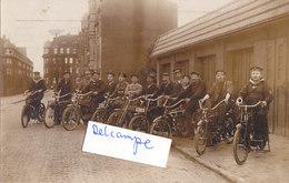 Foto Motorrad Motorcycle NSU Kaiserliche Marine Wilhelmshaven Marinekorps Flandern? 1.Weltkrieg Ww1 14-18 German Soldier - Guerra, Militari
