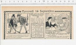 2 Scans Humour De 1904 Fumer Une Terre Pour Mettre Des Patates / Bavardage Pie Oiseau Perroquet 223S - Non Classés