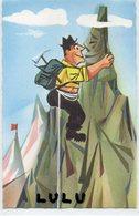 HUMOUR 130 : Alpiniste , édit. Deria,  Impr. En Suisse - Humour