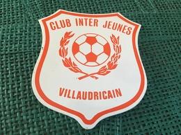 Autocollant Foot Club Inter Jeunes Villaudricain - Stickers