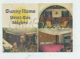 """Megève (74)  :  3 Vues De L'Hôtel """"Sunny Home"""" En 1980  GF. - Megève"""