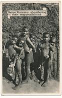 AFRIQUE DU SUD - Native Piccanins - Newman Art Publishing, Cape Town - South Africa