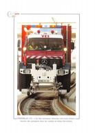 Marseille - L'un Des Véhicules Rail-route D'intervention Des Pompiers - Tunnels - Ferroviaire - VES - Camion - Marins - Autres