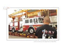 Déchargement De L'American-LaFrance, Camion Incendie Du Fire Department Of New York - Pompier De Paris - Autres
