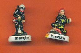 Lot De 2 Feves De La Serie Rois Des Secours - Pompiers - Characters