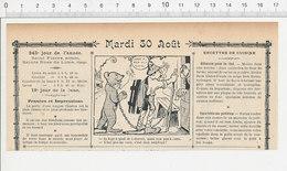 2 Scans Humour De 1904 Montreur D'ours / Tuer Le Cochon 223S - Non Classés