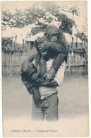 SIERRA LEONE - Colaboy And Tommy - Garçon Et Chimpanzés - Sierra Leone