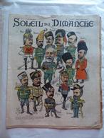 LE SOLEIL DU DIMANCHE  N° 1 Du 5/1/1902 GOUVERNEMENT EN UNIFORMES RUSSES - LES DERNIERS PEAUX ROUGES -LES MONTGOLFIERES - Newspapers