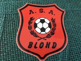 Autocollant Foot ASA Blond - Stickers