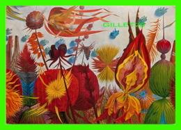 ART, PEINTURE - WOLFGANG HUTTER (1928-2014) - PEINTRE AUTRICHIEN - LE JARDIN VOLANT - - Peintures & Tableaux