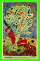 ART, PEINTURE - ARIK BRAUER (1929-) - PEINTRE AUTRICHIEN - BERCEAU DES RÊVES - - Peintures & Tableaux