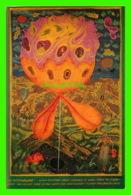 ART, PEINTURE - ARIK BRAUER (1929-) - PEINTRE AUTRICHIEN - LA FLEUR D'HABITATION - - Peintures & Tableaux