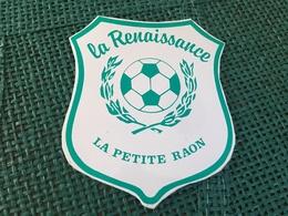 Autocollant Foot La Petite Raon - Stickers