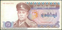 TWN - BURMA 63 - 35 Kyats 1986 Prefix HD F/VF - Myanmar